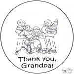 Kreativitet - Thanks grand pa