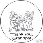 Kreativitet - Thanks grand pa
