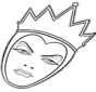 The angry queen