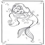 Tegneseriefigurer - The little Mermaid 1