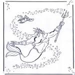 Tegneseriefigurer - The little Mermaid 2