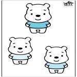 Småbarn - Three bears
