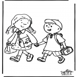 Småbarn - To school 3
