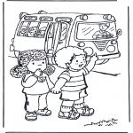 Småbarn - To school 4