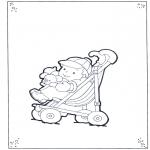 Småbarn - Toddler in buggy
