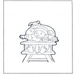 Småbarn - Toddler on chair