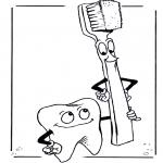 Litt av hvert - Tooth and toothbrush