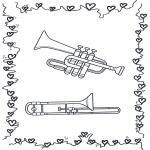 Litt av hvert - Trumpet and trombone