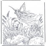 Litt av hvert - Vliegend elfje