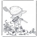Litt av hvert - Walking with rake