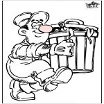 Litt av hvert - Waste collector