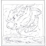 Dyr - White dolphin