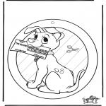 Kreativitet - Window picture 102 Dalmatians 1