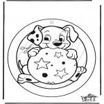 Kreativitet - Window picture 102 Dalmatians 2