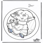 Kreativitet - Windowpicture Dora 2