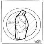 Bibelsk - Windowpicture Jesus