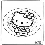 Kreativitet - Windowpicture Kitty