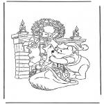 Tegneseriefigurer - Winnie the Pooh 16