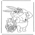 Tegneseriefigurer - Winnie the Pooh 2
