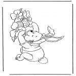 Temaer - Winnie the Pooh like Easter bunny