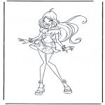 Tegneseriefigurer - Winx Club 1
