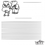 Kreativitet - Writing paper Babar