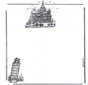 Writing paper buildings