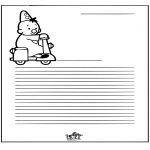 Kreativitet - Writing paper Bumba
