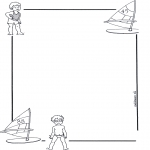 Kreativitet - Writing paper child