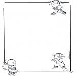 Kreativitet - Writing paper children 1
