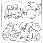 Jul - X-mas coloringpage 1