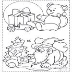 Jul - X-mas coloringpage 1