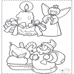 Jul - X-mas coloringpage 2