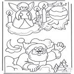 Jul - X-mas coloringpage 3