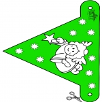 Jul - X-mas decorationflag 10