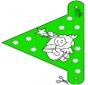 X-mas decorationflag 10