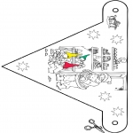 Jul - X-mas decorationflag 9