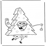 Jul - X-mas Spongebob 3