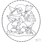 Jul - X-mas stitchingcard 11