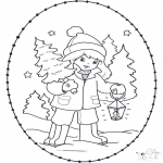 Jul - X-mas stitchingcard 23