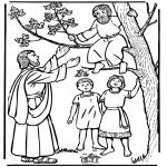 Bibelsk - Zacchaeus and Jesus