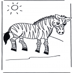 Dyr - Zebra